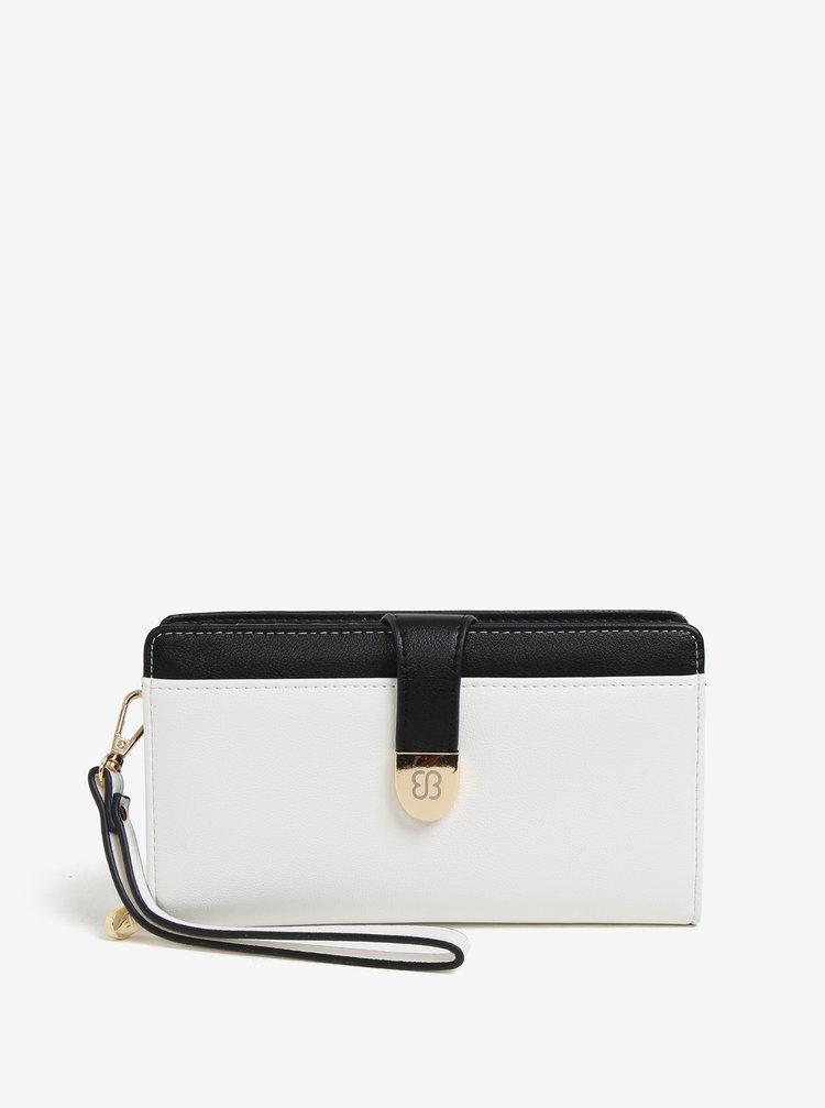 Černo-bílá peněženka s poutkem Bessie London
