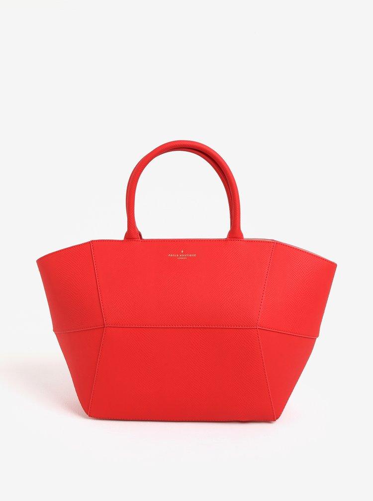 Červená veľká kabelka Paul's Boutique Bea