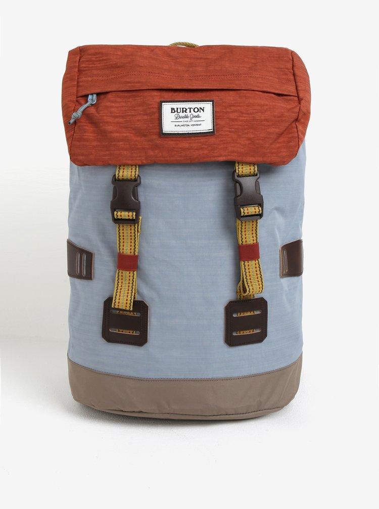 Cihlovo-modrý batoh Burton Tinder 25 l
