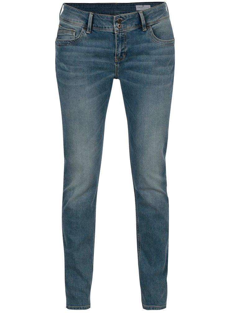 Modré dámské skinny džíny Cross Jeans