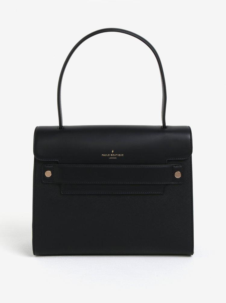 Černá kabelka s klopou Paul´s Boutique Liberty