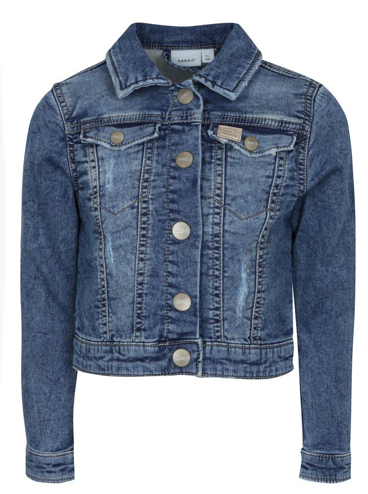 Modrá holčičí džínová bunda name it Fesa