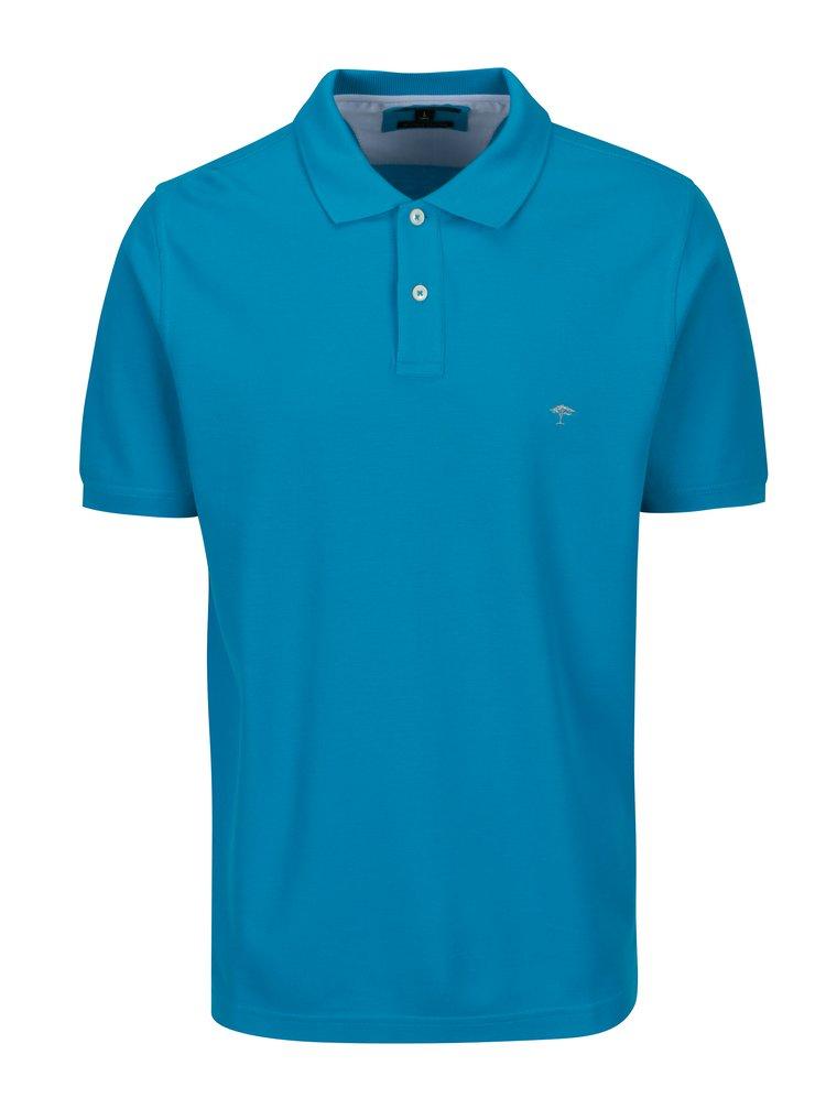 Modré polo tričko s krátkým rukávem Fynch-Hatton