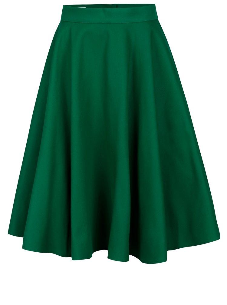 Zelená kolová sukně MONLEMON Lantern