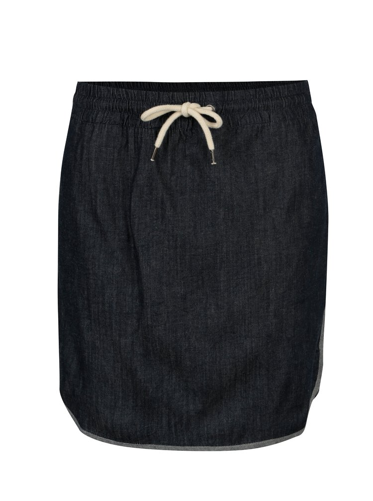 Tmavě modrá džínová sukně s kapsami Tranquillo Chirita
