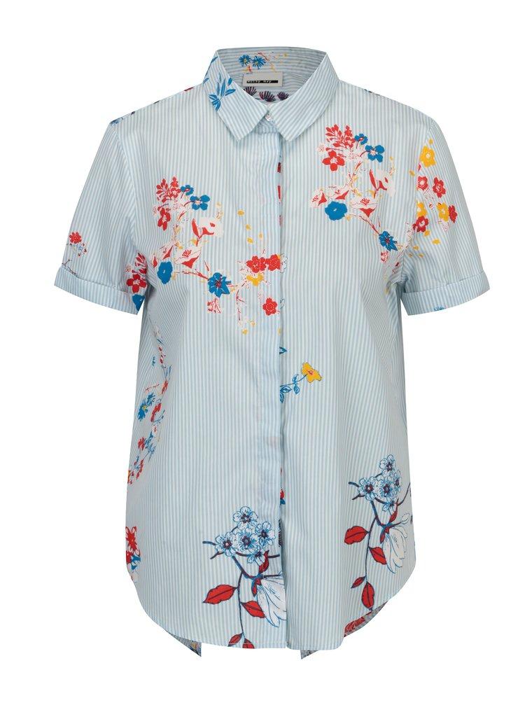 Camasa cu print floral si in dungi Noisy May Conansa