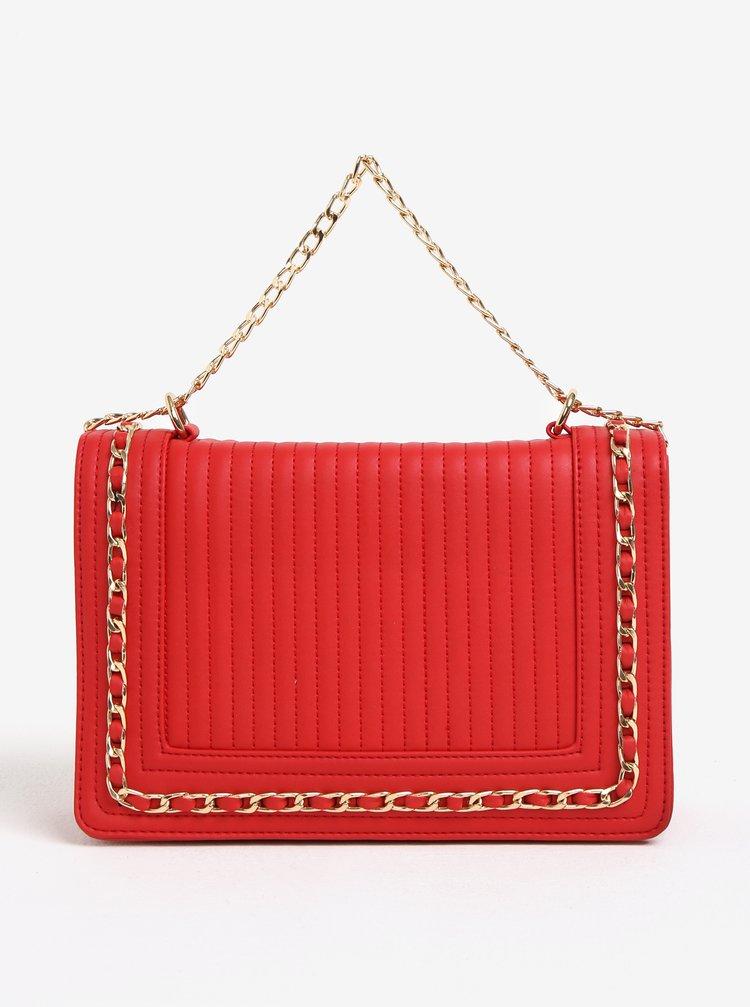 Červená crossbody kabelka Dorothy Perkins