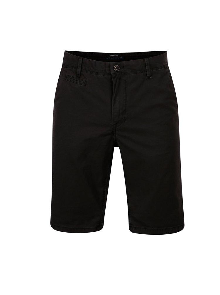 Pantaloni scurti chino gri slim fit pentru barbati - Garcia Jeans Santo