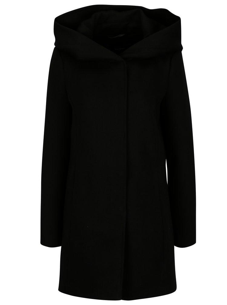 Palton negru cu gluga - ONLY Erodona