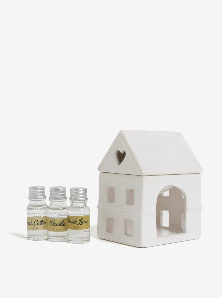Lampa pentru aromaterapie cu 3 uleiuri volatile - SIFCON