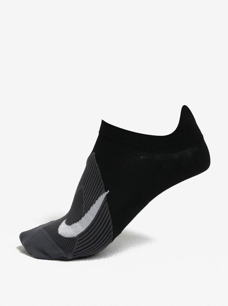 Černé unisex funkční ponožky Nike Elite Lightweigh