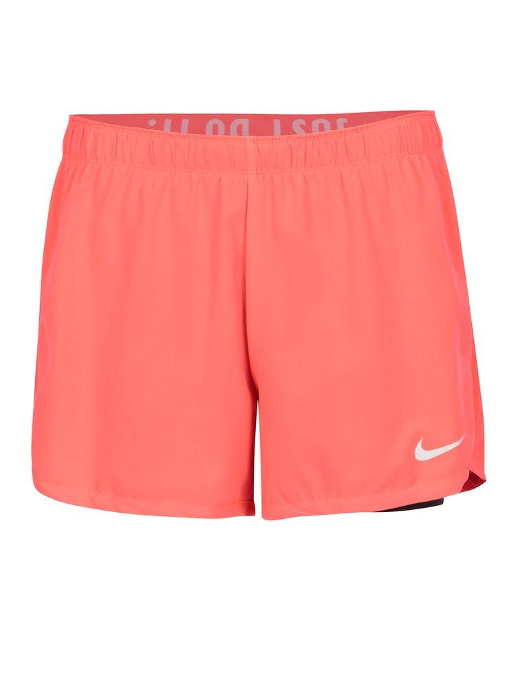 8207d75c547c2 Čierno–ružové kraťasy Nike | ZOOT.sk