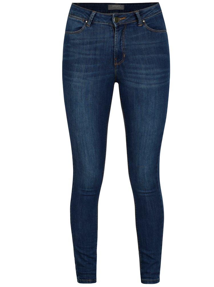 Modré super skinny džíny Dorothy Perkins Bailey