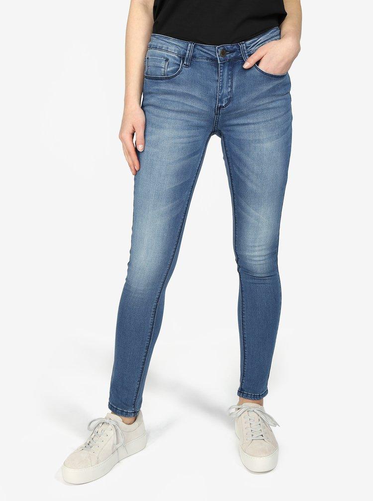 Modré slim fit džíny Haily's Mia