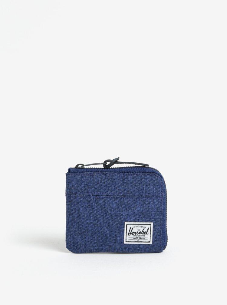 Tmavě modrá peněženka na mince Herschel Johnny