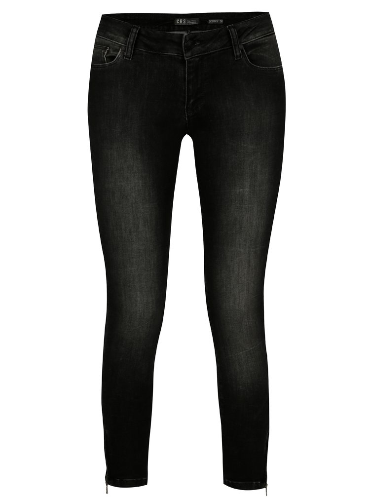 80163d28546 ... Tmavě šedé dámské skinny džíny Cars Koblenka
