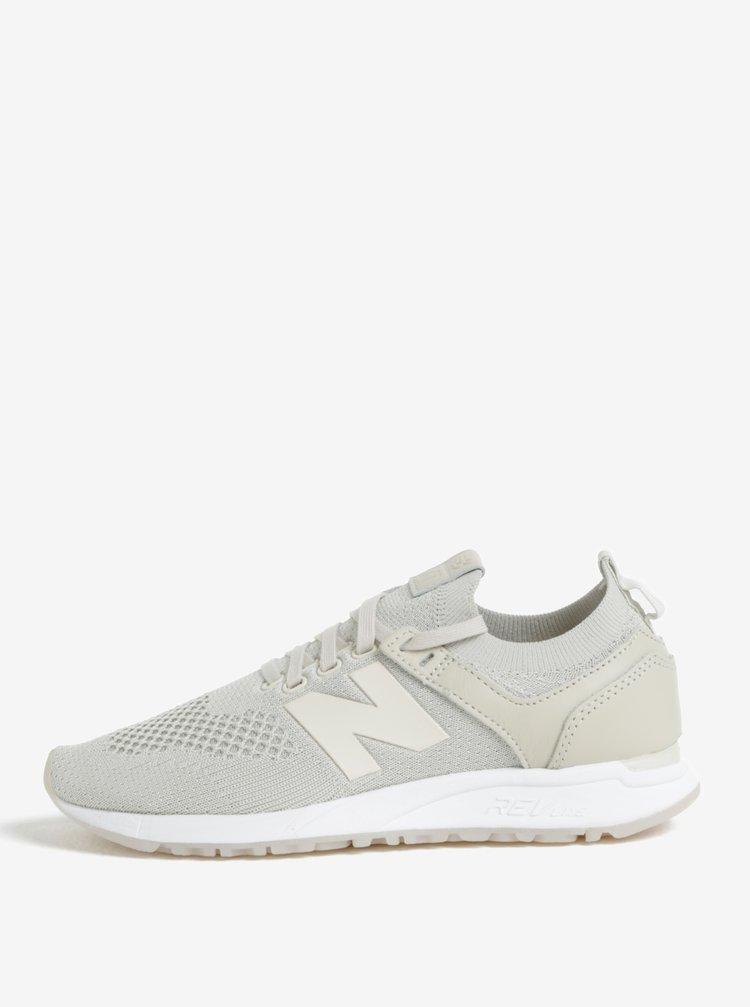 Pantofi sport gri deschis pentru femei New Balance WRL247