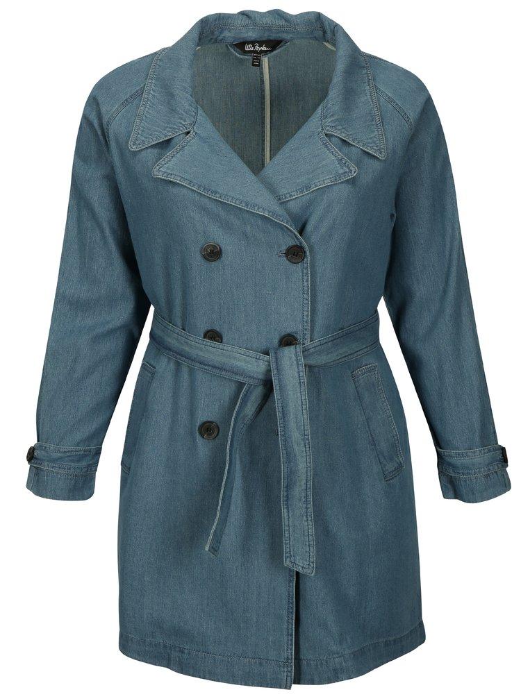 Modrý rifľový kabát Ulla Popken