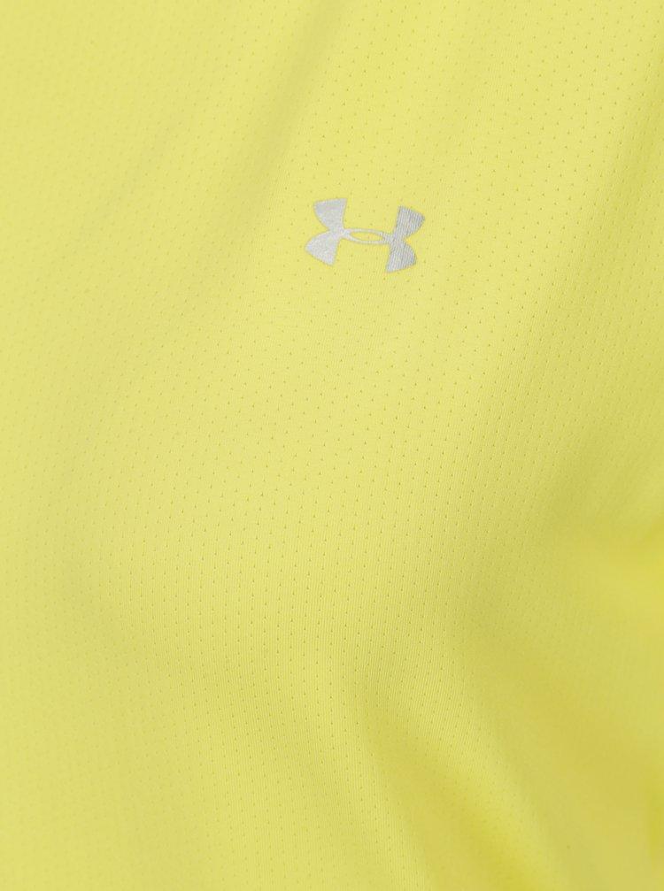 a388a9d62b70 Žluté dámské funkční tričko Under Armour HeatGear