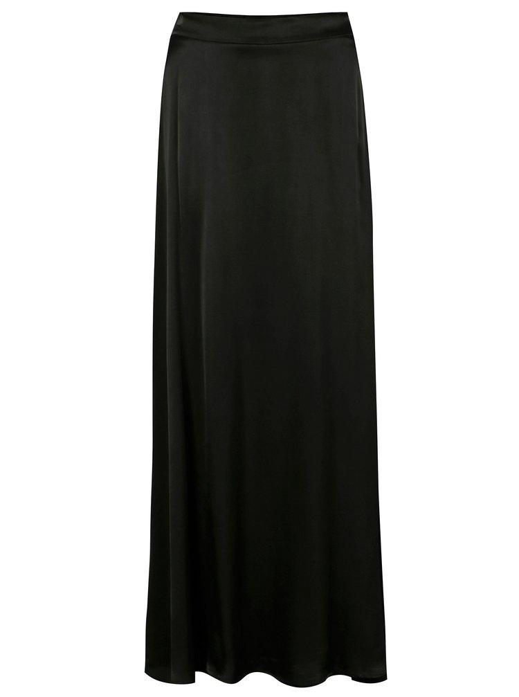 Černá maxi sukně VILA Milana