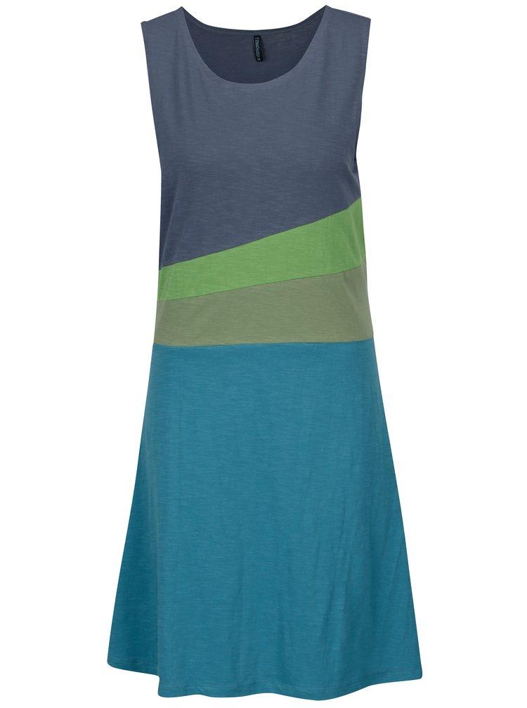 Zeleno-tyrkysové šaty Tranquillo Verna