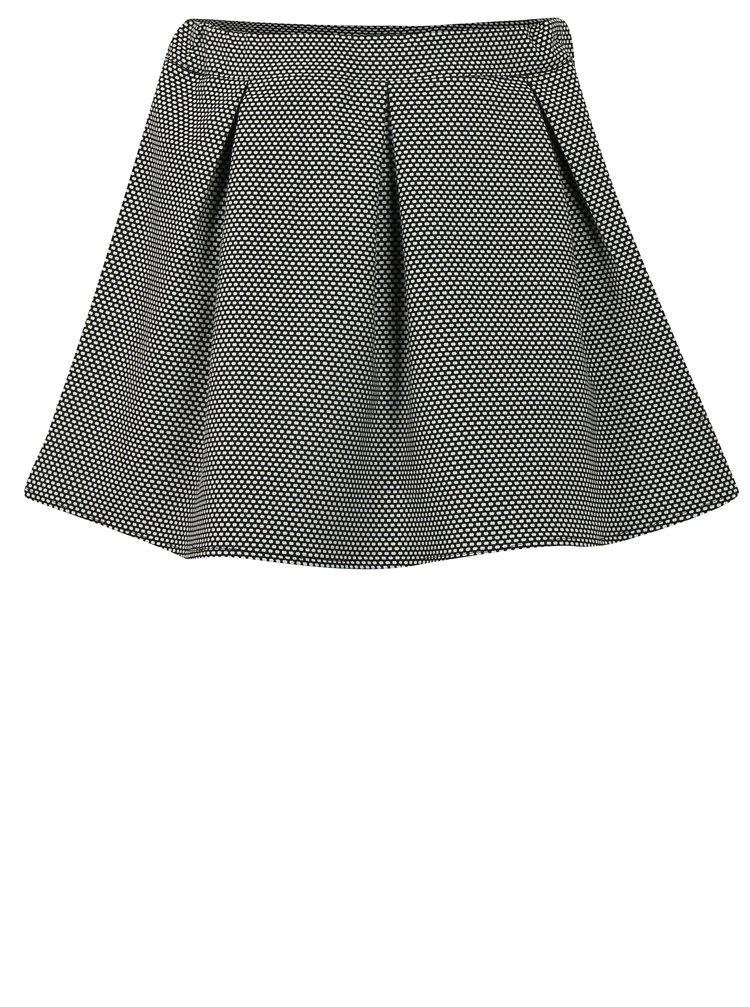 Bílo-černá holčičí puntíkovaná sukně Blue Seven