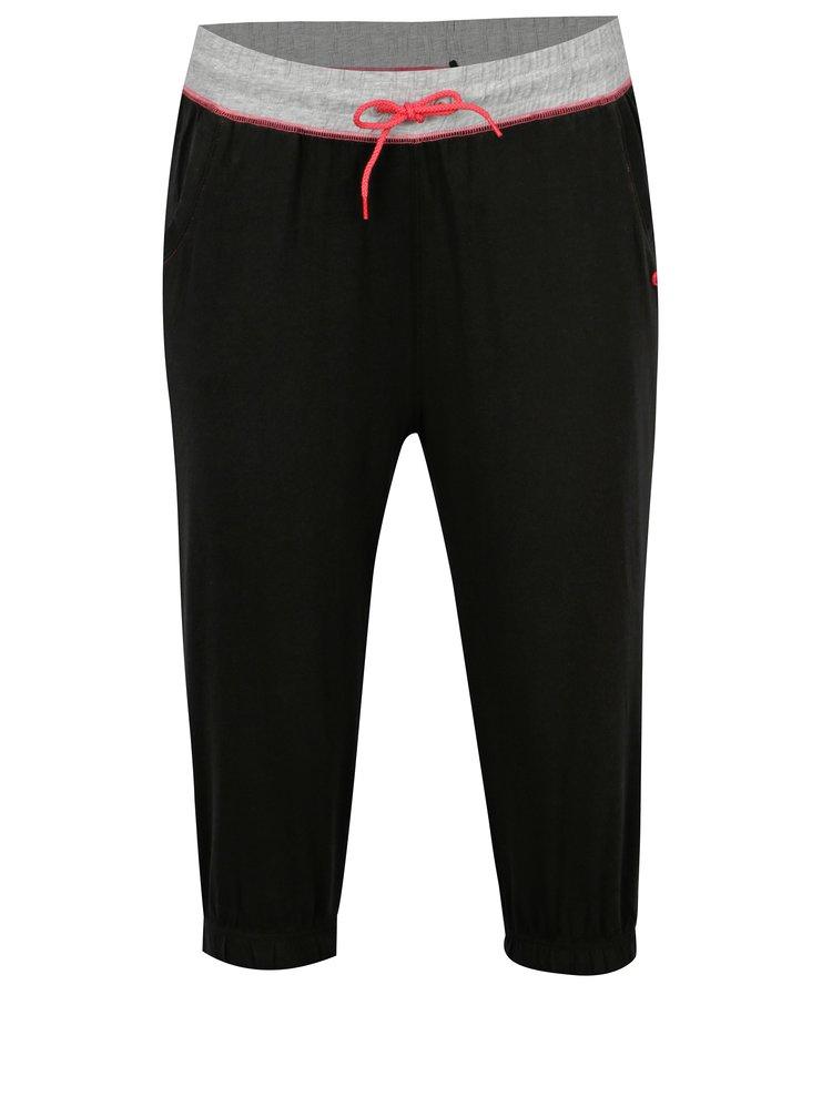 Pantaloni sport 3/4 negri pentru femei  LOAP Bethany
