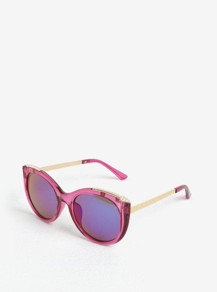 Růžové holčičí sluneční brýle name it Sun
