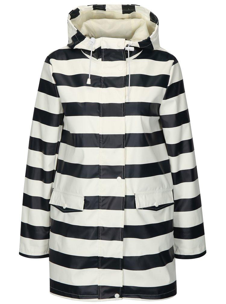 Modro-bílá pruhovaná pláštěnka s kapsami Dorothy Perkins