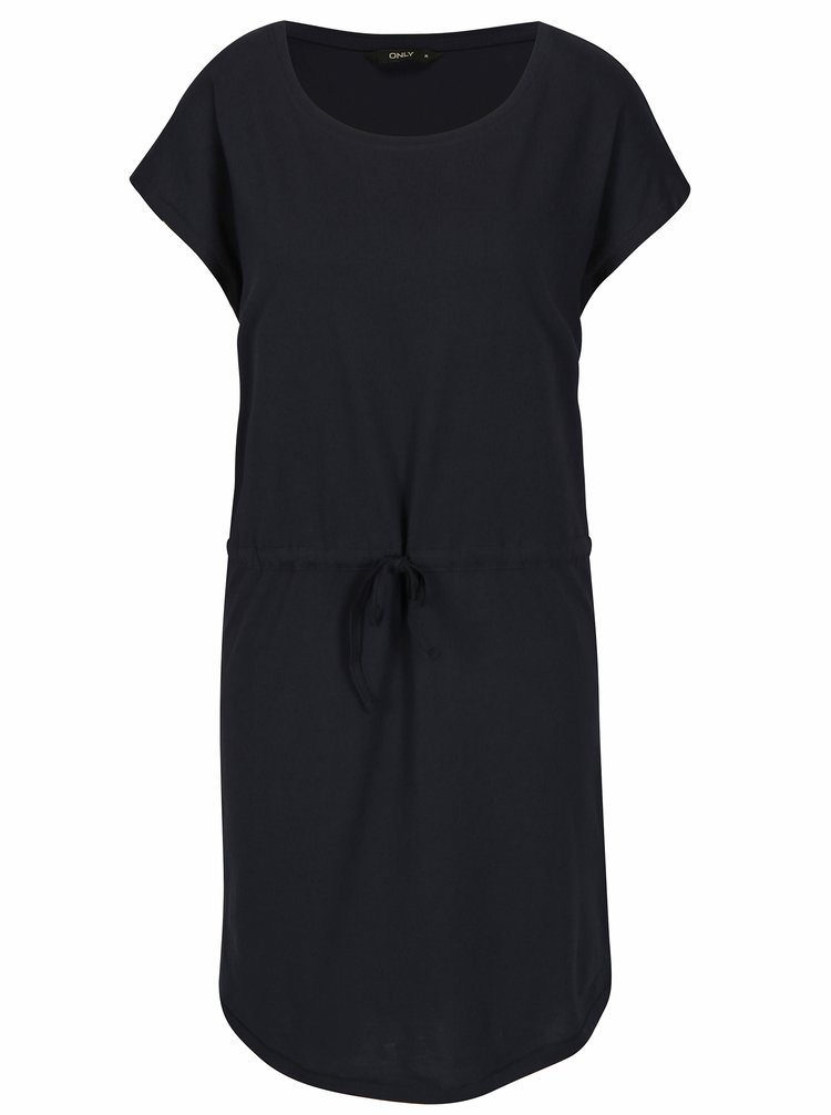 Tmavě modré šaty s krátkým rukávem ONLY May