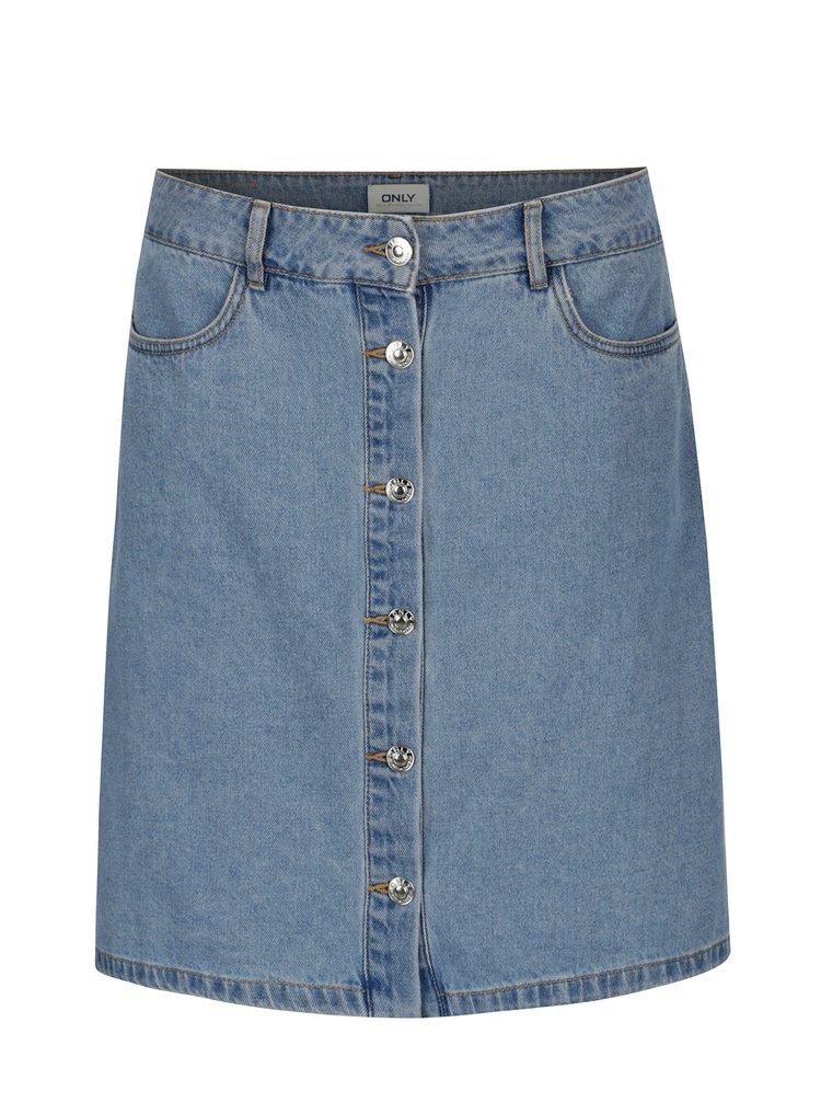 Světle modrá džínová sukně ONLY Farrah