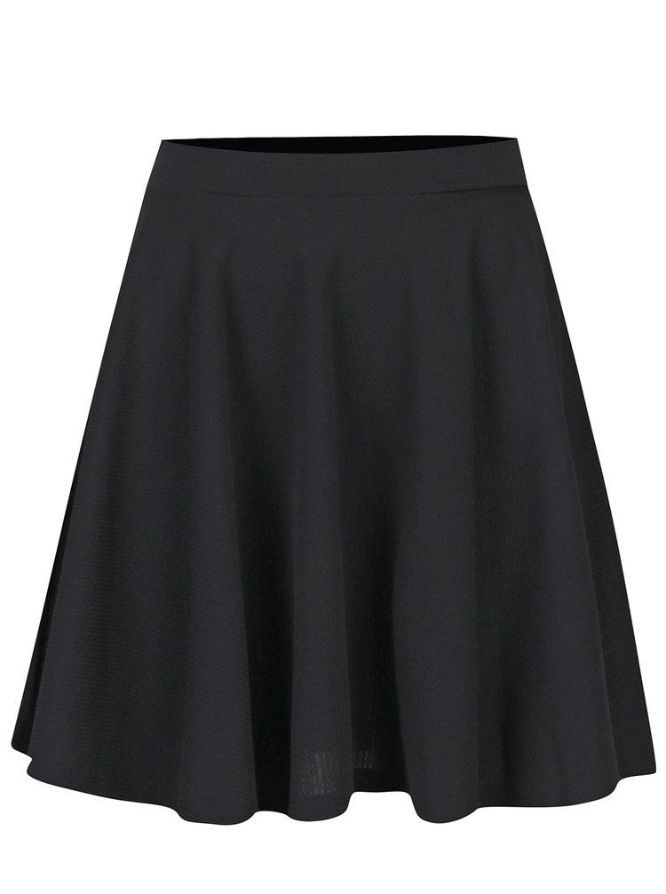 Černá kolová mini sukně Haily´s Gina