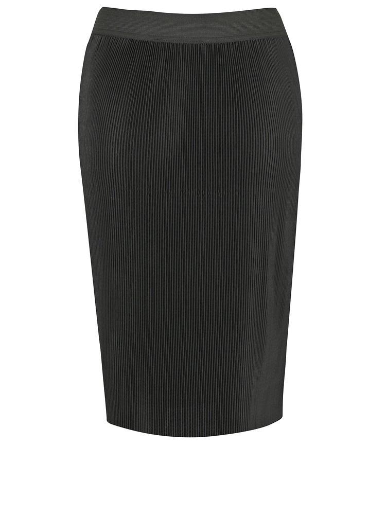 Černá plisovaná sukně Broadway Naraja