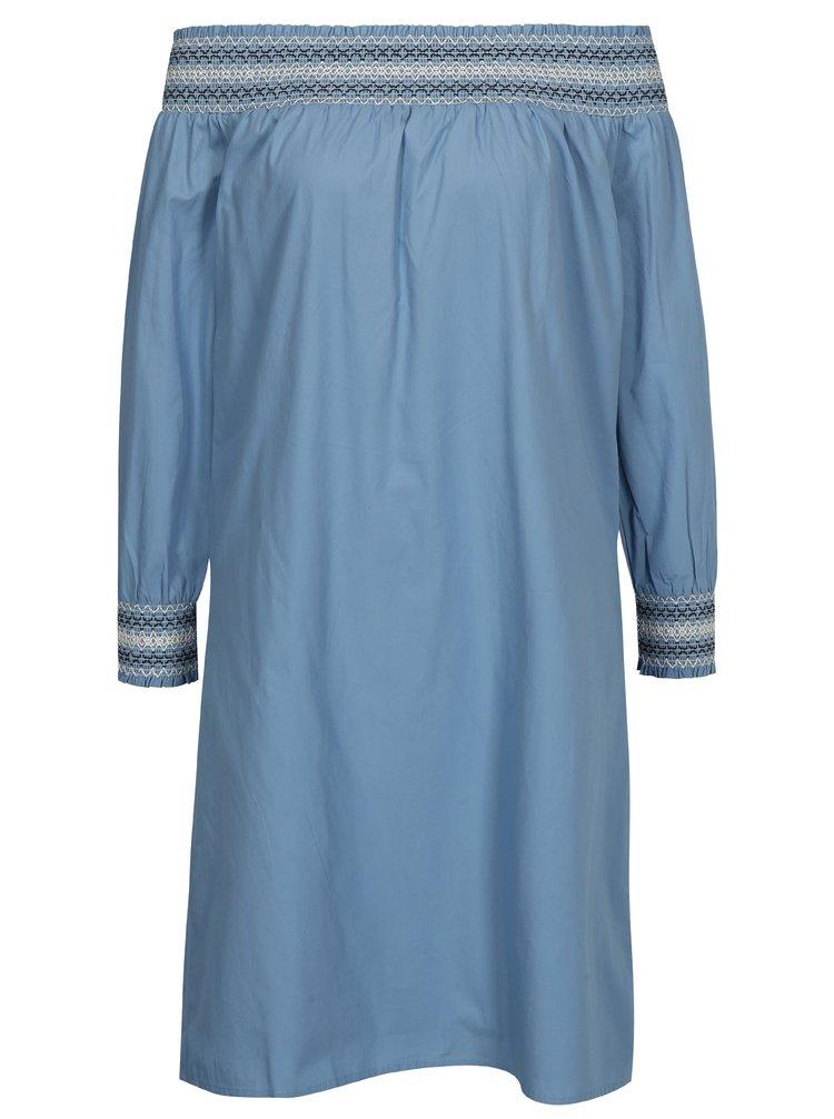 Rochie albastra cu umeri expusi VILA Adiniana