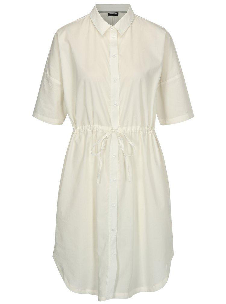 Bílé košilové šaty Noisy May Nora