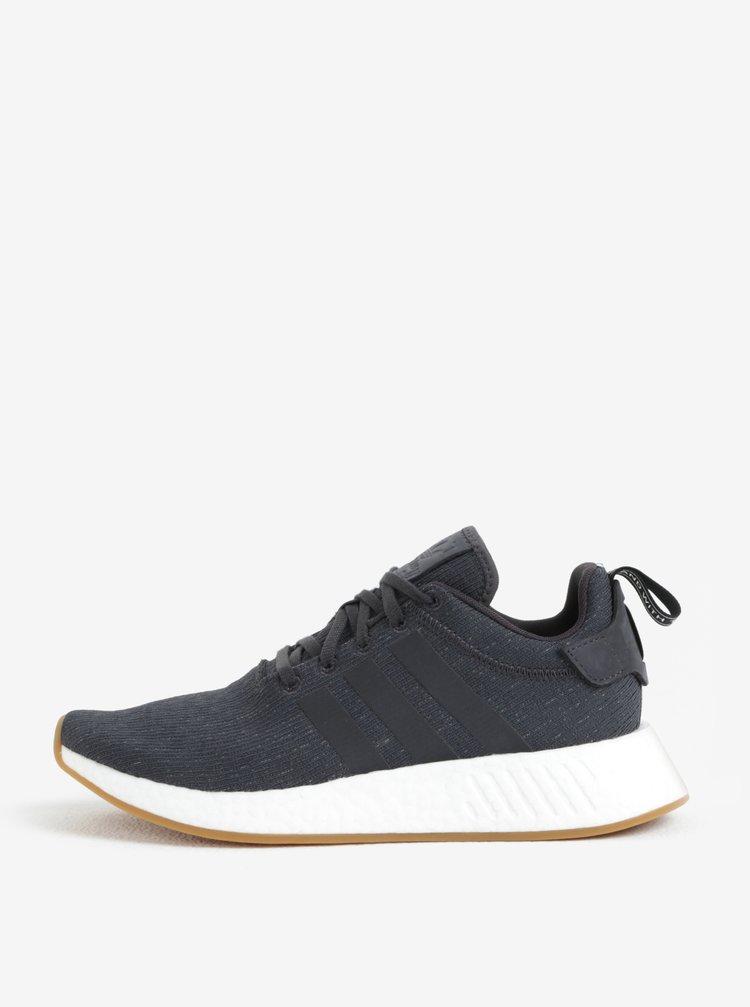 Tmavě šedé pánské tenisky adidas Originals NMD R2