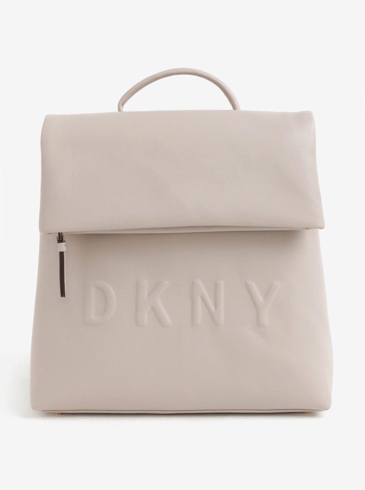 Béžový batoh DKNY Tilly