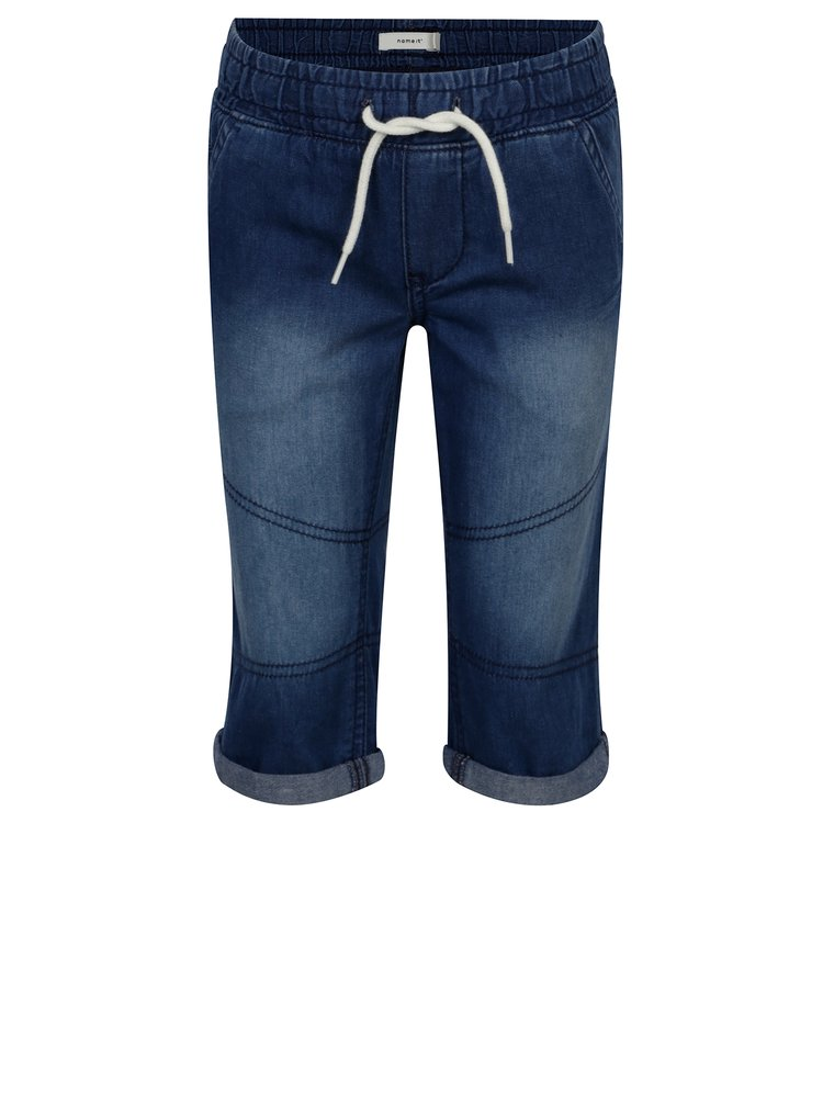 Tmavě modré dětské džínové kraťasy name it Ryan