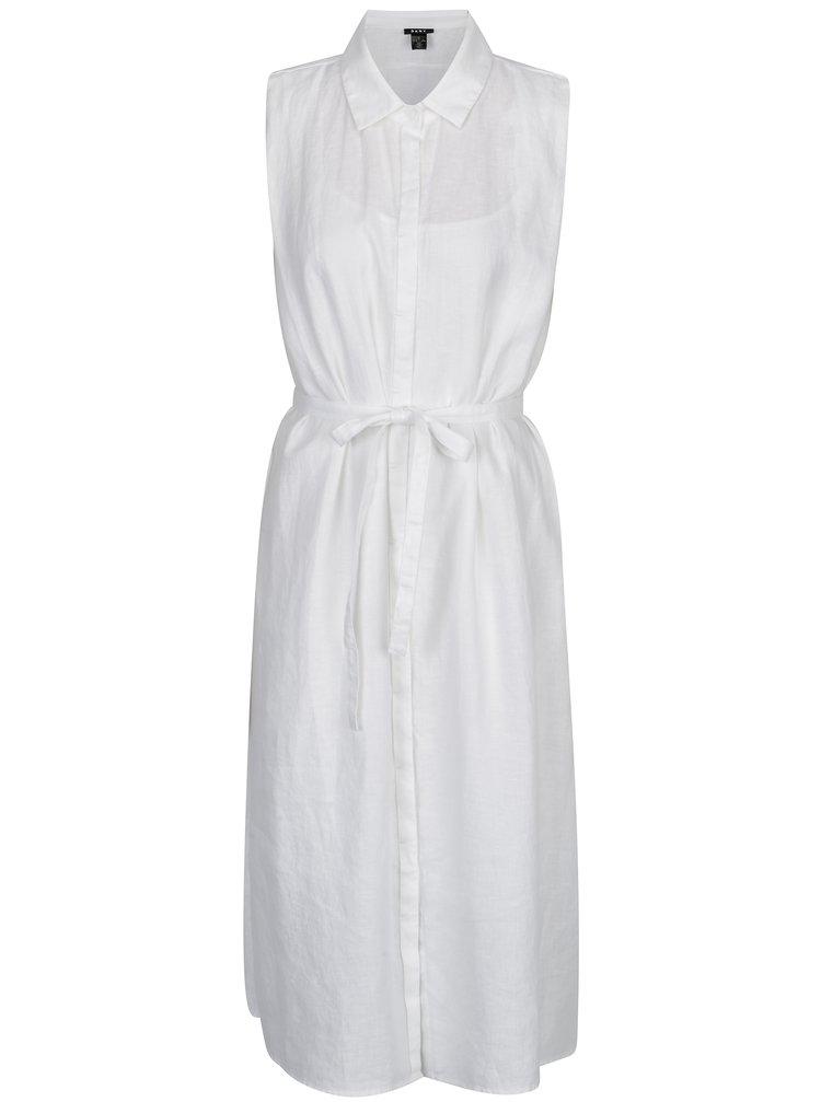Rochie camasa alba din in DKNY
