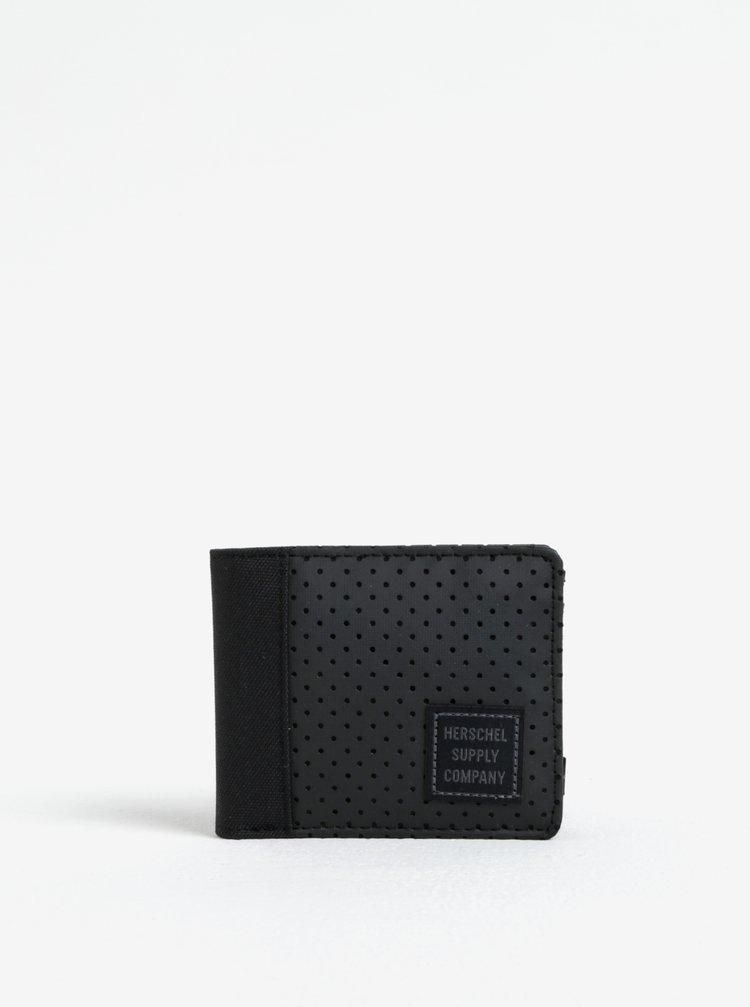 Portofel negru pentru barbati - Herschel Supply Edward