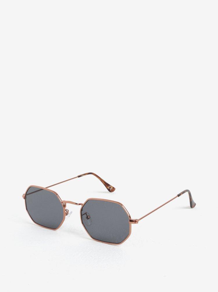 Hranaté sluneční brýle v měděné barvě Jeepers Peepers