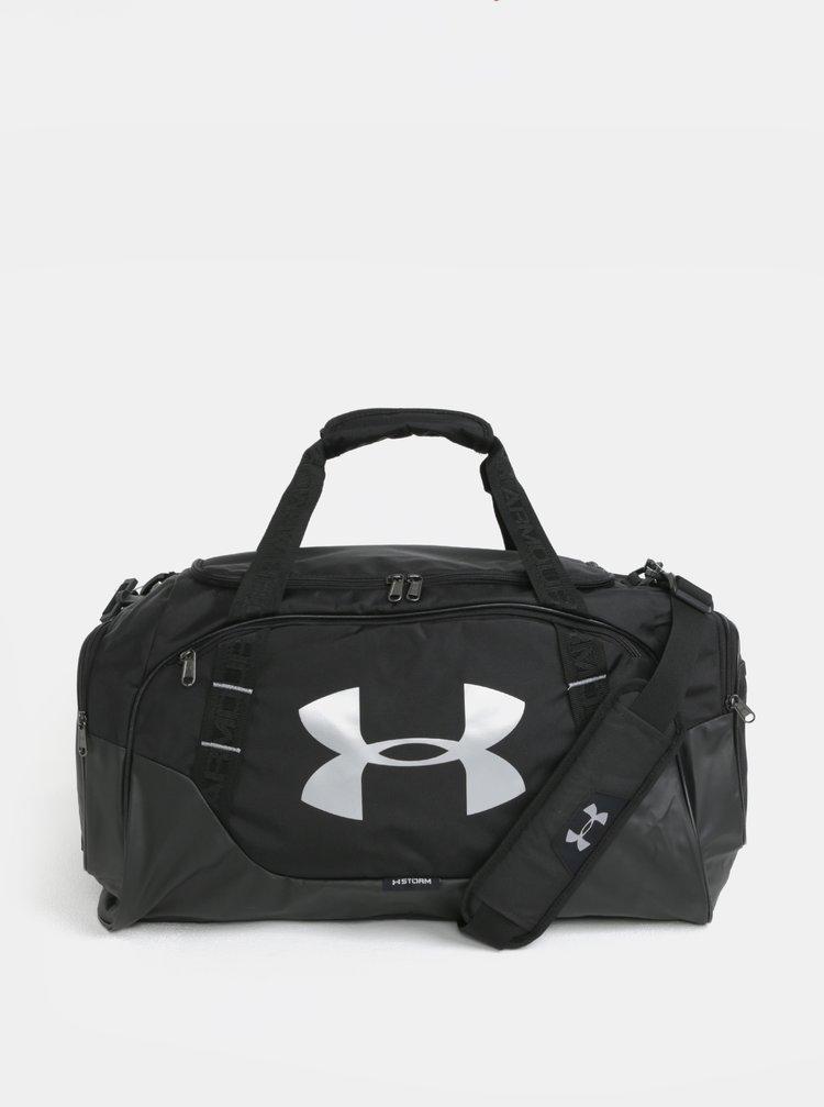 Černá sportovní voděodolná taška s reflexními prvky Under Armour