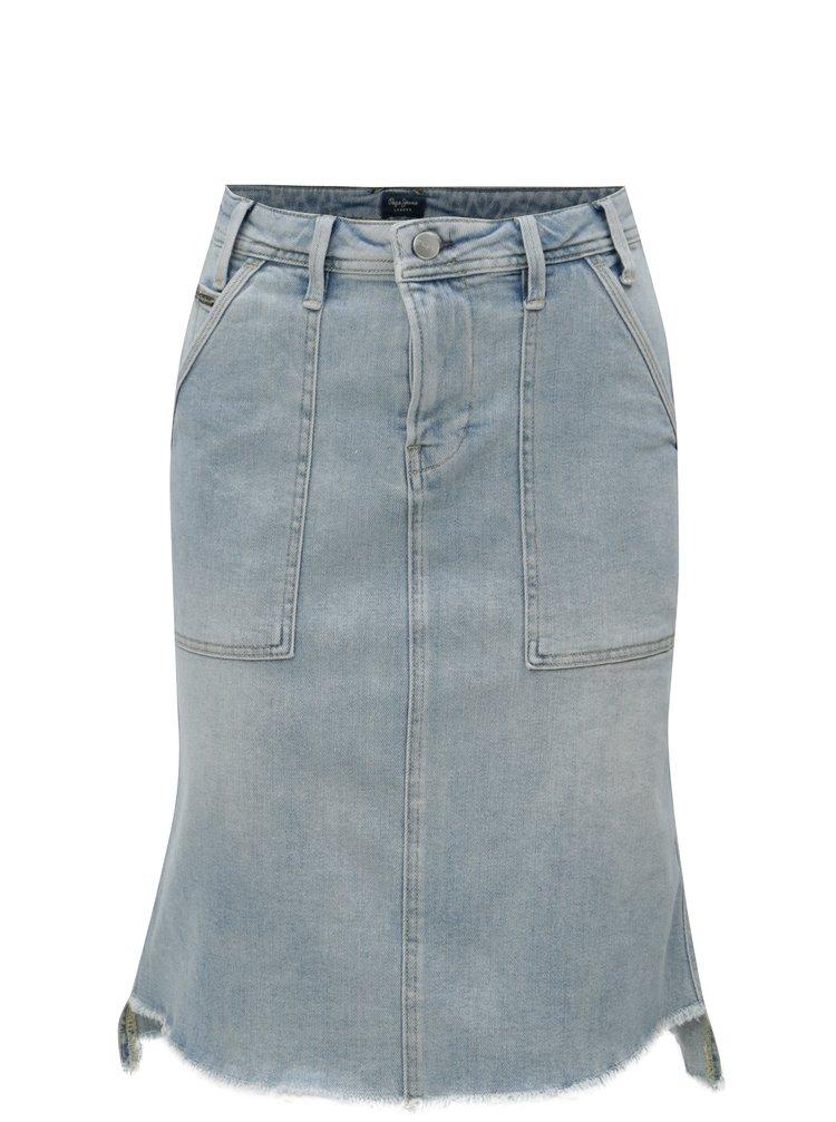 Světle modrá džínová sukně  Pepe Jeans Penny