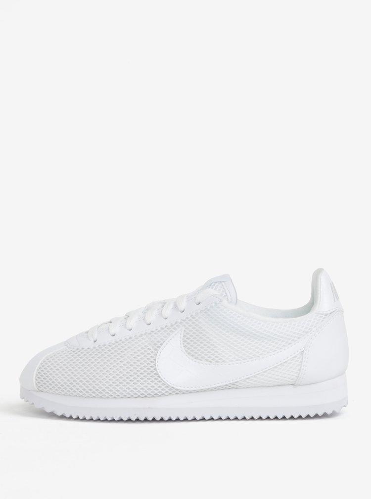 Bílé dámské tenisky Nike Classic Cortez