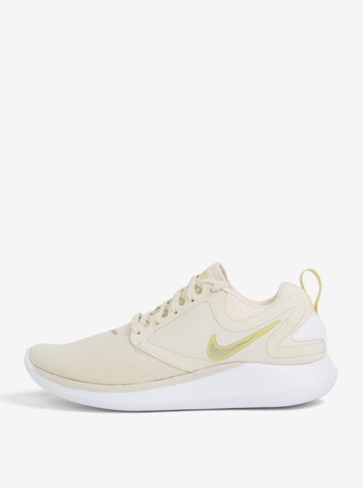 Světle žluté dámské tenisky Nike Lunar Solo Running