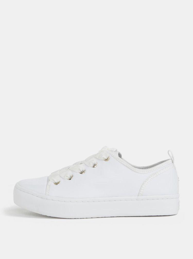Bílé kožené tenisky Tommy Hilfiger