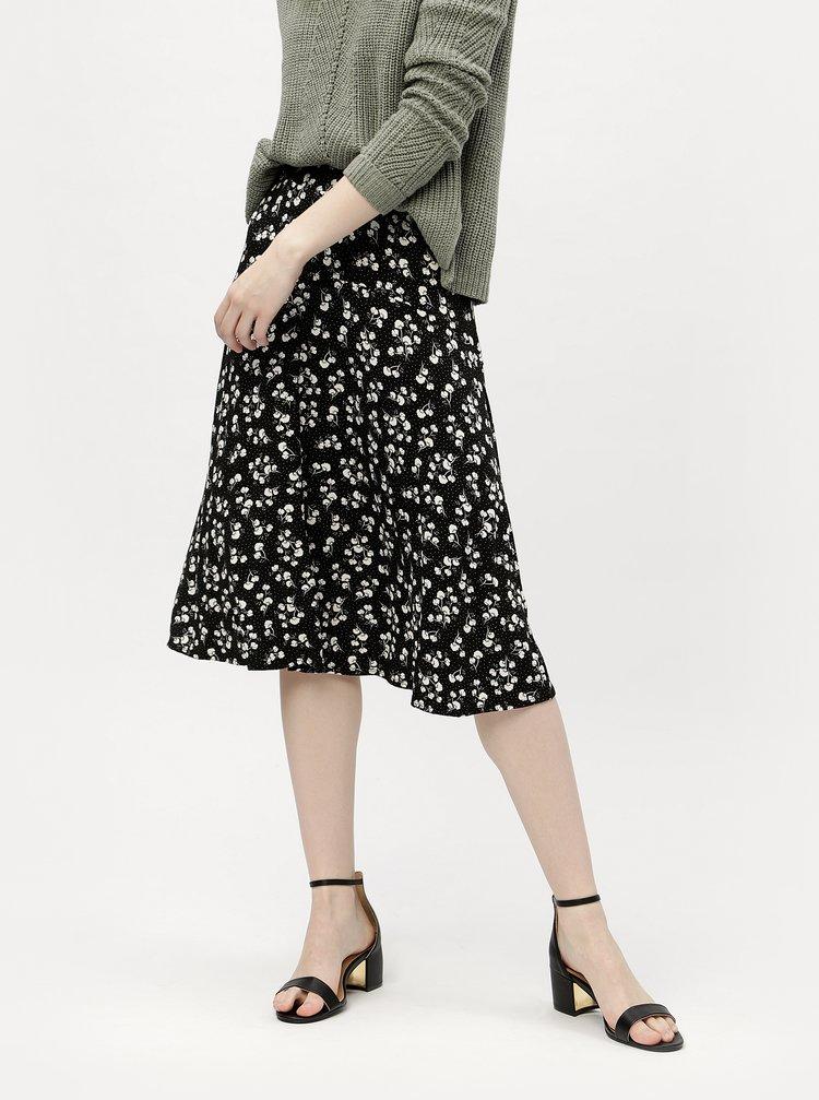 Černá sukně s elastickým pasem M&Co