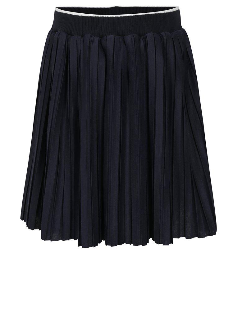 Tmavě modrá holčičí plisovaná sukně North Pole Kids