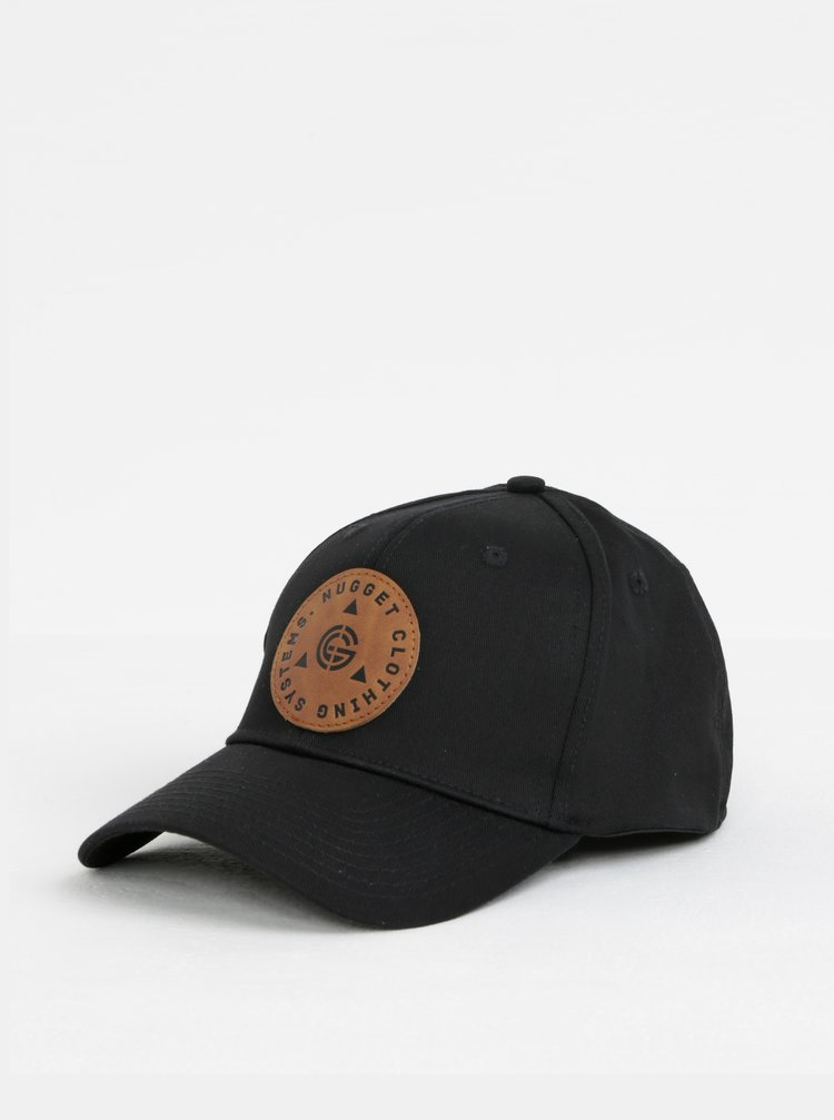 Černá pánská kšiltovka NUGGET Sweep