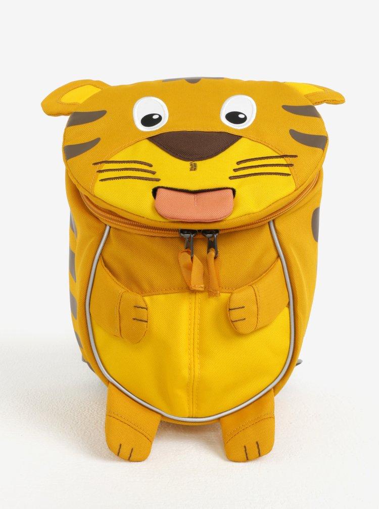 Žlutý batoh ve tvaru tygra Affenzahn 4 l